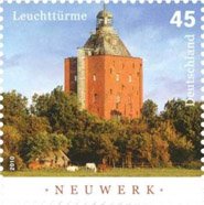 Briefmarke Leuchtturm